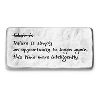 Failure Is An Opportunity Paperweight