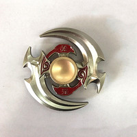 Hot Selling  Toys Triangular Hand Spinner High Quality Metal Profession Genji Spinner ADHD Tri Spinner Cool Fidget Spinner