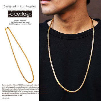New Arrival Gift Shiny Jewelry Hip-hop Stylish Chain Necklace [10529029443]