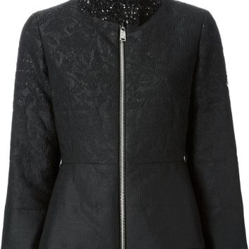 Moncler Gamme Rouge feather down sequined jacket