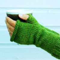Fingerless mittens - Warm handwarmers