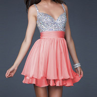 Charming Mini Short Cocktail Evening Dresses Party Formal Bridesmaid Ball Gown