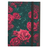 Red Roses with a Black Background Photography Case For iPad Air