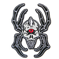 Mishka Cyco Spider Patch White One