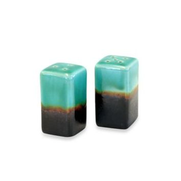 Baum Galaxy Salt and Pepper Shaker Set in Jade
