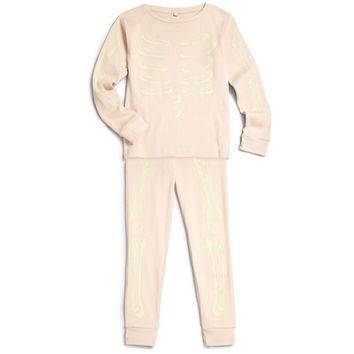 Stella McCartney Girls Pink 'Bones' Pajama