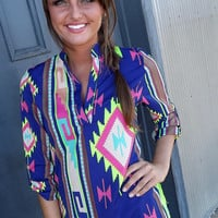 Bold in Navajo Tunic | The Rage