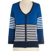 ModCloth Scholastic Mid-length 3 Casual or Nothing Cardigan