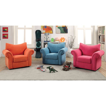 Kids Children Upholstered Fabric Bedroom Arm Chair Sofa Seating