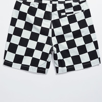 T&C Surf Designs Checker Print Drawstring Volley Shorts at PacSun.com