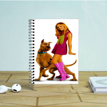 Daphne Blake And Scooby Doo Photo Notebook Auroid