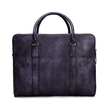 Milan Leather Briefcase
