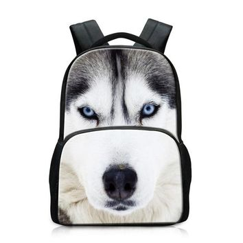 Boys bookbag trendy Large School Backpack for Boys Personalized Animal Lightweight Back Pack Fashion Horse Day Pack for Children mens laptop  AT_51_3