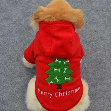 Christmas Pet Dog Clothes Small Dog Costume