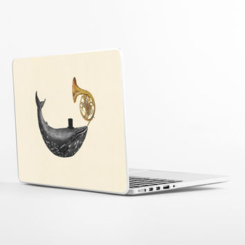 Whale Song Laptop Skin