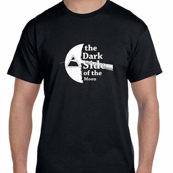 Pink Floyd The Dark Side Of The Moon Black And White Mens T Shirt