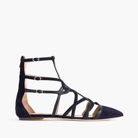 J.Crew Womens Collection Caged Gladiator Flats