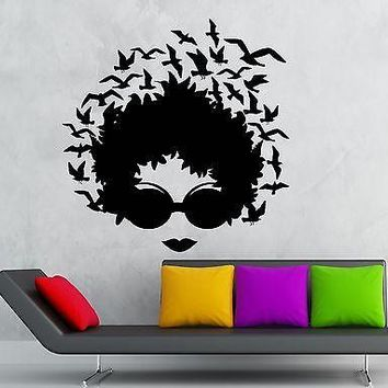 Wall Stickers Vinyl Decal Sexy Girl Hair Abstract Modern Great Decor Unique Gift (ig1782)