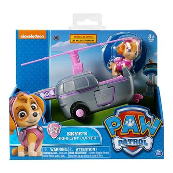 Paw Patrol Puppy Rescue Helicopter Toys Anime Figurine Car Plastic Toy Action Model Children Birthday Gifts Toys WWD04