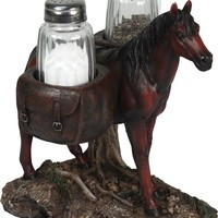 Salt & Pepper Shaker Set - Pack Horse