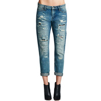 Cult Of Individuality Alter Ego Boyfriend Womens Jeans In Razor