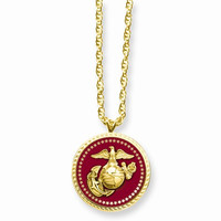 Marines K Gold-Plated Necklace