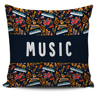 Music Teacher Pillow Cover