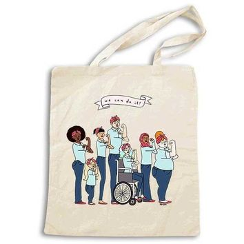 Intersectional Rosie -- Tote Bag
