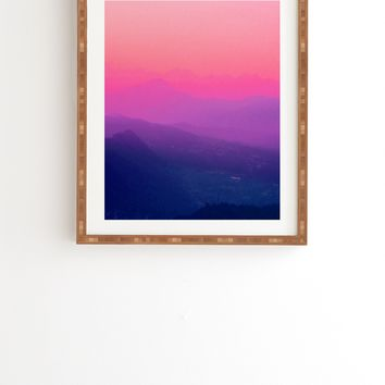Aimee St Hill Como Sunset Framed Wall Art