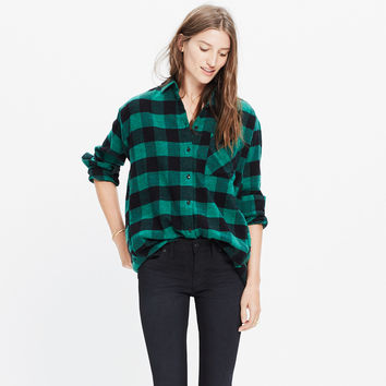 Flannel Sunday Shirt in Buffalo Check