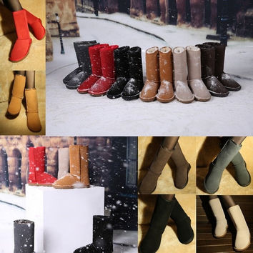 Womens Tall Fully Fur Lined Waterproof Winter Rain Snow Boots = 1932746756