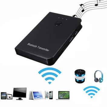 Bluetooth Audio Music Streaming Transmitter Car AUX Home