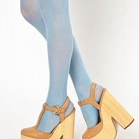 Gipsy 40 Denier Pastel Tights at asos.com