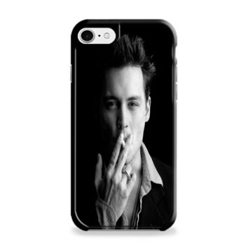 Johnny Depp (bw) iPhone 6 | iPhone 6S Case