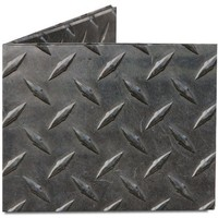 Dynomighty Men's Diamond Plate Mighty Wallet