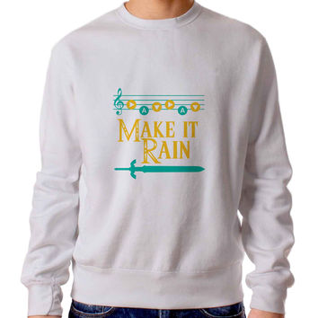 Make It Rain Zelda Sweater / Unisex Sweater