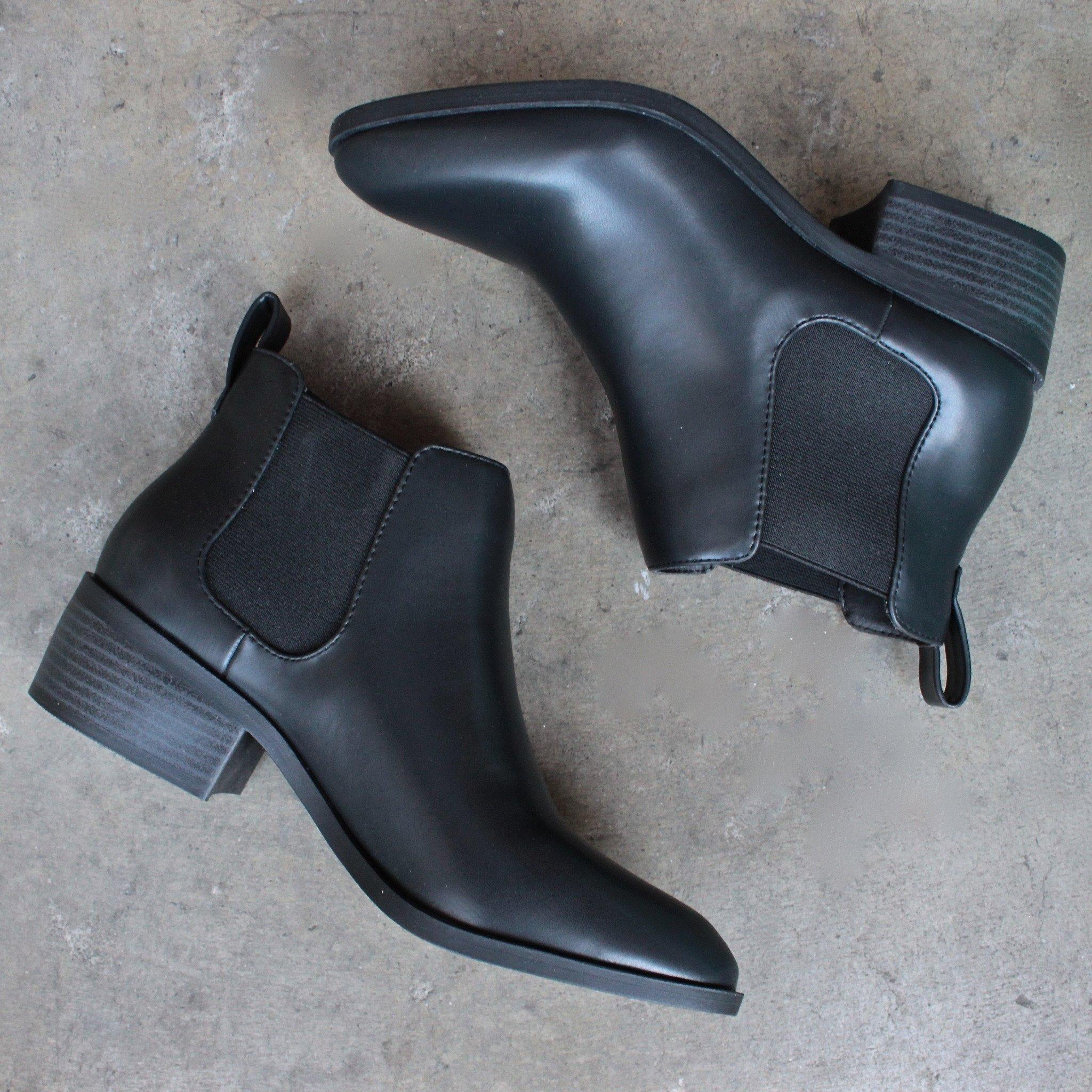 1237c7702cd8 bc footwear modern chelsea ankle boot - from shophearts