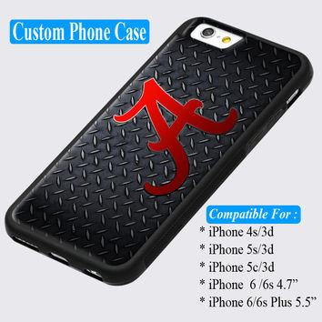 Alabama Crimson Tide College Football Custom iPhone cases 4/4s  5/5s  6/ 6s