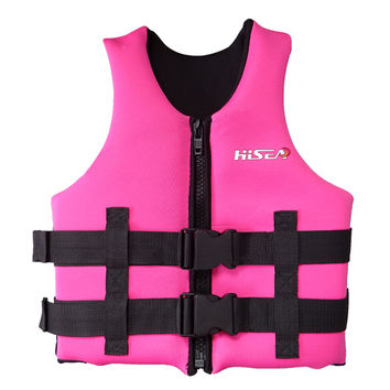 L006 L007 L008 L012 Child Life Jacket Surfing Fishing Drifting Vest   pink   S