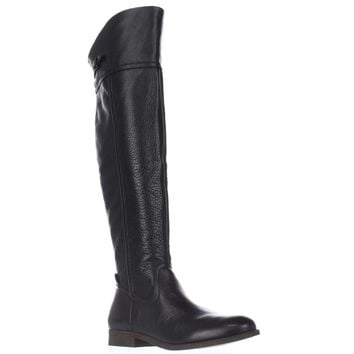 Franco Sarto Hydie Tall Riding Boots, Black, 5 US
