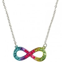 Rhinestone Infinity Necklace | Girls Jewelry Accessories | Shop Justice