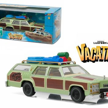 "1979 Family Truckster \Wagon Queen"" Honky Lips Version \""National Lampoon\'s Vacation\"" Movie (1983) 1/43 Diecast Model Car by Greenlight"""