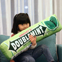 Chewing Gum Plush Pillow