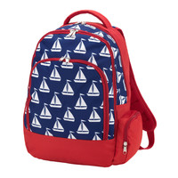 Red, White and Blue Sailing Backpack