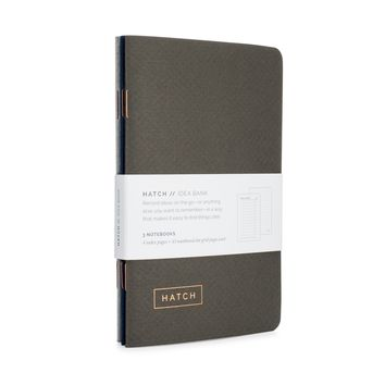 Hatch Idea Bank Pocket Notebooks (Set of 3)