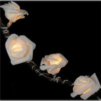 Battery Operated - 16 Roses on a String - Light