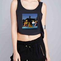 scooby doo and friends for Crop Tank Girls S, M, L, XL, XXL *07*