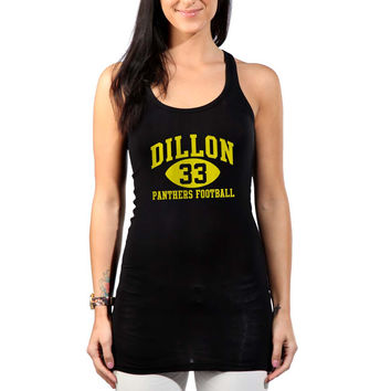 Dillon Panthers 33 blue Womens Tank Top *