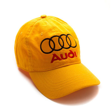 """Club Foreign Logo Hat """"Rings"""" - Yellow"""
