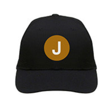 "J Train Hat ""NYC SUBWAY LINE"""